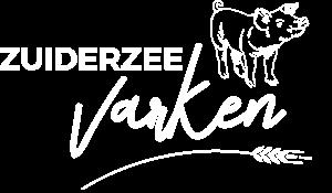 Zuiderzeevarken Logo Wit